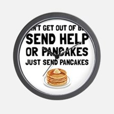 Send Pancakes Wall Clock