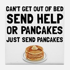 Send Pancakes Tile Coaster