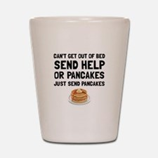 Send Pancakes Shot Glass
