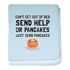 Send Pancakes baby blanket