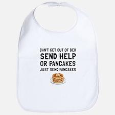 Send Pancakes Bib