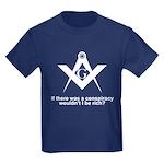 Kids Masonic Conspiracy Dark T-Shirt