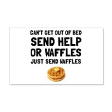 Send Waffles Wall Decal