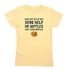 Send Waffles Girl's Tee