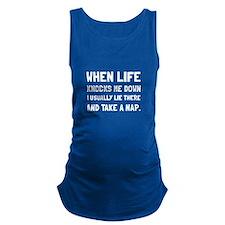 Take A Nap Maternity Tank Top