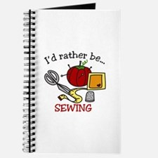 Rather Be Sewing Journal