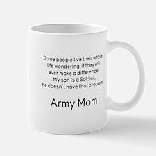 Army Mom No Problem Son Mugs