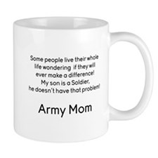 Army Mom No Problem Son Mugs