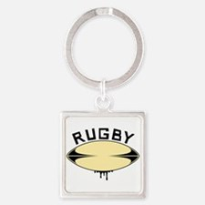 Rugby ball Keychains