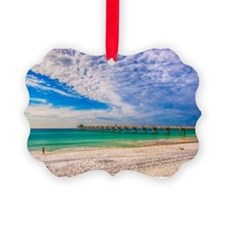 Island Beach Walk Ornament