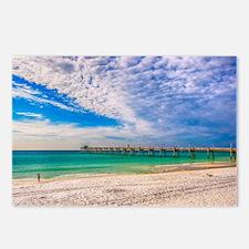 Island Beach Walk Postcards (Package of 8)
