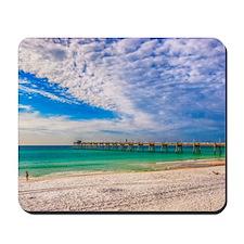 Island Beach Walk Mousepad