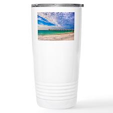 Island Beach Walk Travel Mug