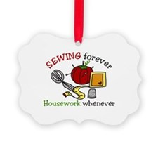 Sewing Forever Ornament