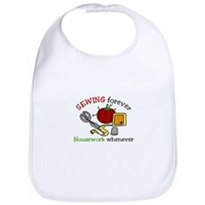 Sewing Forever Bib