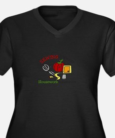 Sewing Forever Plus Size T-Shirt