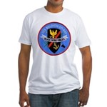 USS WALDRON Fitted T-Shirt