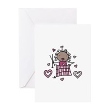 Knitter Greeting Cards