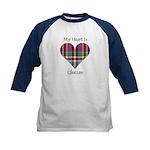 Heart - Chattan Kids Baseball Jersey