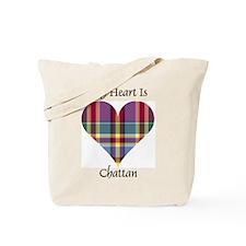 Heart - Chattan Tote Bag
