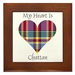 Heart - Chattan Framed Tile