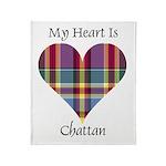 Heart - Chattan Throw Blanket