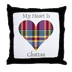 Heart - Chattan Throw Pillow