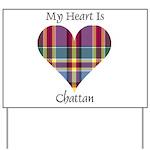 Heart - Chattan Yard Sign