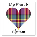 Heart - Chattan Square Car Magnet 3