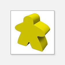 """Unique Meeple Square Sticker 3"""" x 3"""""""