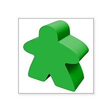 "Unique Meeples Square Sticker 3"" x 3"""