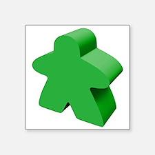 """Cute Meeple Square Sticker 3"""" x 3"""""""