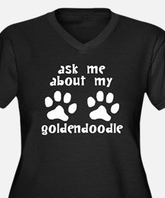 Ask Me About My Goldendoodle Plus Size T-Shirt