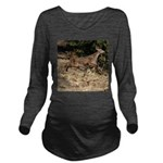Flying Fawn Long Sleeve Maternity T-Shirt