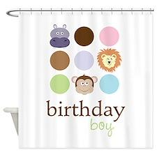 Birthday Boy Shower Curtain