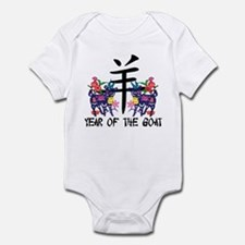 Year of The Goat Infant Bodysuit