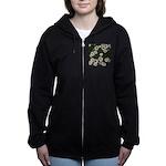 Shasta Daisies Women's Zip Hoodie