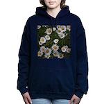 Shasta Daisies Women's Hooded Sweatshirt