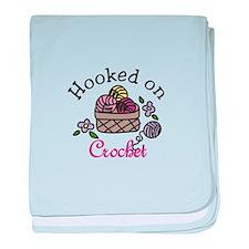 Hooked On Crochet baby blanket
