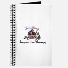 Cheaper Than Therapy Journal