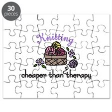 Cheaper Than Therapy Puzzle