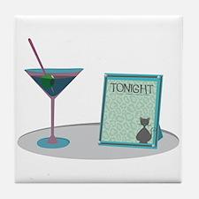 Martini Base Tile Coaster