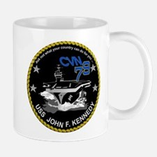CVN 79 John F Kennedy Mug