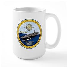 USS Gerald R. Ford CVN 78 Mug
