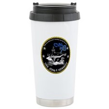 CVN 79 John F Kennedy Travel Mug