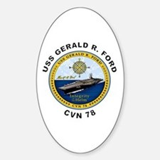 USS Gerald R. Ford CVN 78 Decal