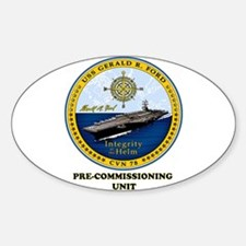 PCU 78 Gerald R. Ford Decal