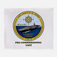 PCU Ford Throw Blanket