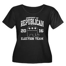 Republican Election Team 2016 Plus Size T-Shirt