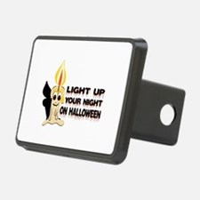 Light Up Your Night On Halloween Hitch Cover